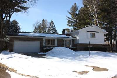Shawano Single Family Home For Sale: 125 Lange