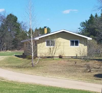 Pembine Single Family Home Active-No Offer: N17056 Hwy 141