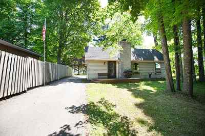Suring Single Family Home Active-No Offer: 9642 Hwy G