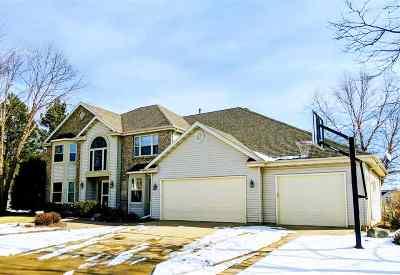 Appleton Single Family Home For Sale: 434 E Haddonstone