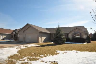 Appleton Single Family Home For Sale: 5499 W Cedar Crest