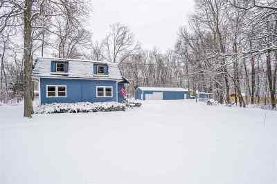 Winneconne Single Family Home Active-Offer No Bump: 5957 Indian Shores