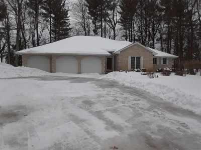 Pound Single Family Home For Sale: 8765 N White Potato Lake