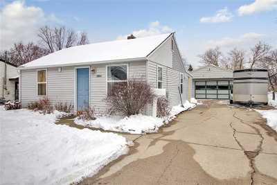 Appleton Single Family Home For Sale: 1804 N Ullman
