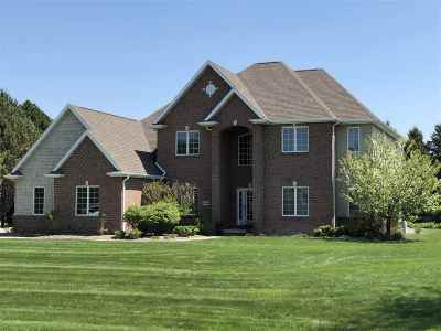Appleton Single Family Home For Sale: N3292 Feather Ridge