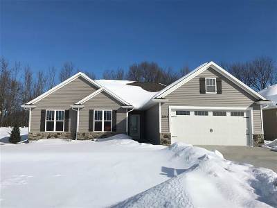 Menasha Single Family Home Active-No Offer: 2944 Villa