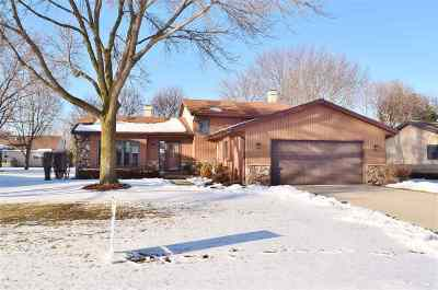 Appleton Single Family Home For Sale: 3118 W Seneca