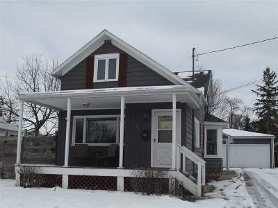 Appleton Single Family Home For Sale: 808 N Division