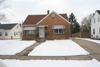 Menasha Single Family Home Active-Offer No Bump: 612 State