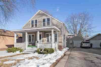 Kaukauna Single Family Home Active-Offer No Bump: 1000 Lawe