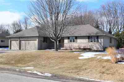 Appleton WI Single Family Home Active-No Offer: $279,900
