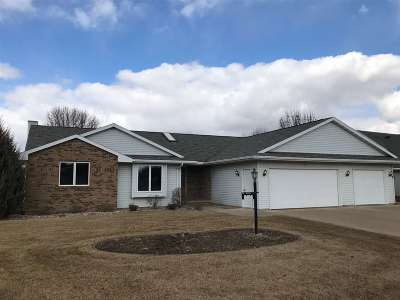 Appleton Single Family Home For Sale: W5928 Tranquil