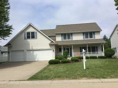 Appleton WI Single Family Home Active-No Offer: $297,500