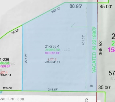 Green Bay Residential Lots & Land Active-No Offer: Highland Center