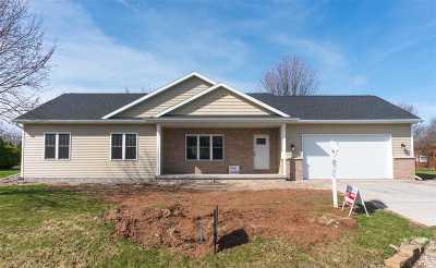 Appleton Single Family Home For Sale: W2577 Block