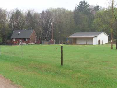 Single Family Home For Sale: N4439 Hwy D