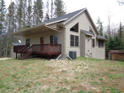 Amberg Single Family Home Active-No Offer: W4435 Hwy K