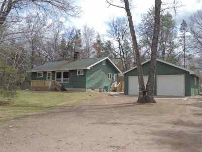 Single Family Home Active-No Offer: 15968 Hwy W