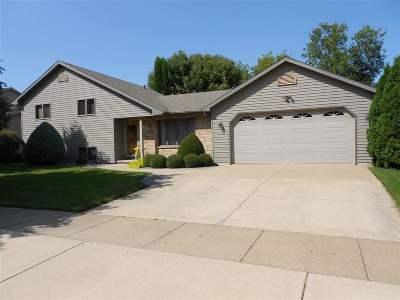 Oshkosh Single Family Home Active-No Offer: 960 Park Ridge