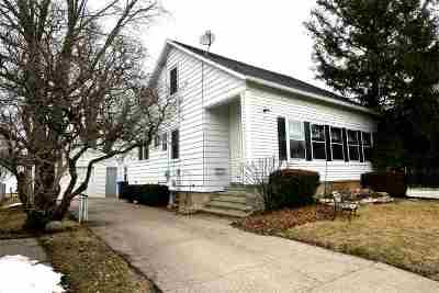Oshkosh Single Family Home Active-No Offer: 4 W 21st