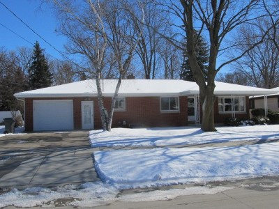 Kaukauna WI Single Family Home Active-Offer No Bump: $129,900