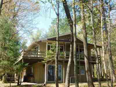 Single Family Home For Sale: N1260 Spirit Island
