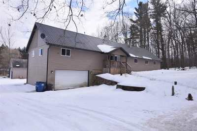 Shawano Single Family Home For Sale: W9335 Hwy M