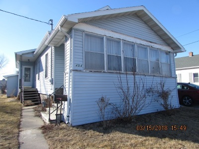 Menasha Single Family Home Active-No Offer: 404 Racine