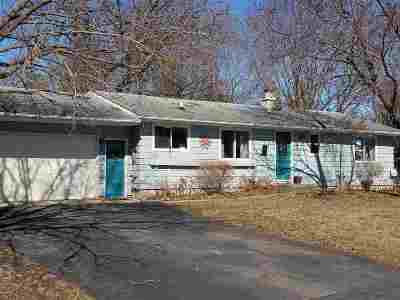 Single Family Home For Sale: 624 Wisconsin