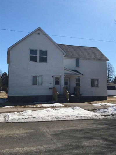 Marinette County Multi Family Home Active-Offer No Bump: 1622 Pernin