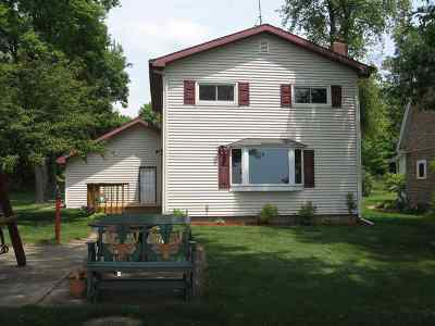 Shawano Single Family Home Active-No Offer: W5497 North Shore