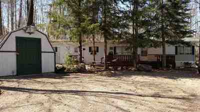 Mountain Single Family Home Active-No Offer: 15035 Sunrise