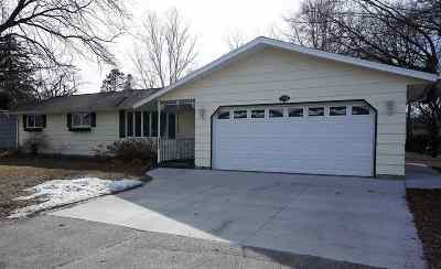 Oconto Single Family Home Active-Offer No Bump: 135 Lindsey