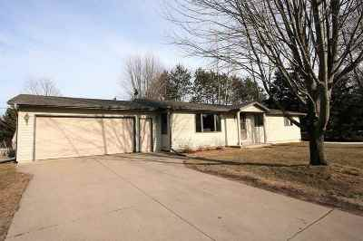 Oconto Falls WI Single Family Home Active-Offer No Bump: $137,500