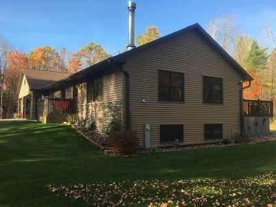 Marinette County Single Family Home Active-No Offer: W9798 Hwy Q