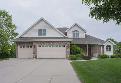 Green Bay Single Family Home Active-No Offer: 3563 Abbey