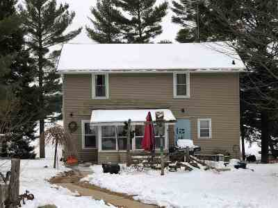 Gillett Single Family Home Active-Offer No Bump: 14491 Berry Lake North Shore