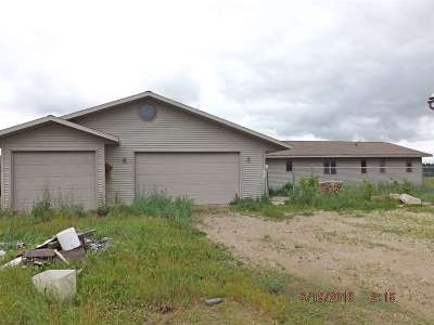 Coleman Single Family Home Active-No Offer: W8250 Hwy B