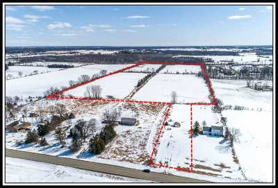 Appleton Residential Lots & Land Active-No Offer: 040080500 Hwy O