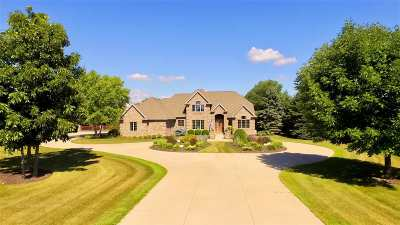 Neenah Single Family Home Active-No Offer: 8224 Golf Course