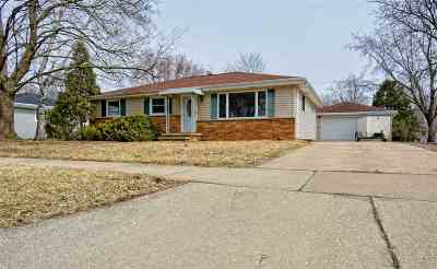 Neenah Single Family Home Active-Offer No Bump: 1054 Honeysuckle
