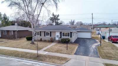 Combined Locks Single Family Home Active-Offer No Bump: 536 Marcella