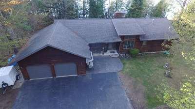 Gresham Single Family Home Active-No Offer: W10444 Island Lake