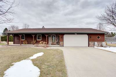 Appleton WI Single Family Home Active-Offer No Bump: $184,900
