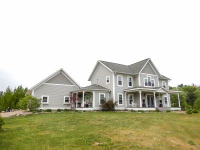 Marinette County Single Family Home Active-No Offer: W8047 Quarry