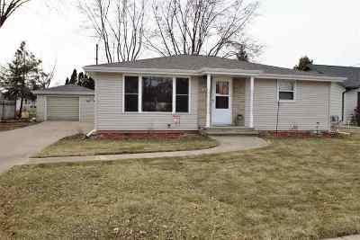 Menasha Single Family Home Active-Offer No Bump: 1048 Grove