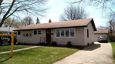 Menasha Single Family Home Active-No Offer: 829 Harding