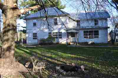 Waupaca Single Family Home Active-No Offer: N4440 Oakland