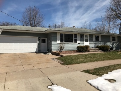 Appleton WI Single Family Home Active-No Offer: $125,000