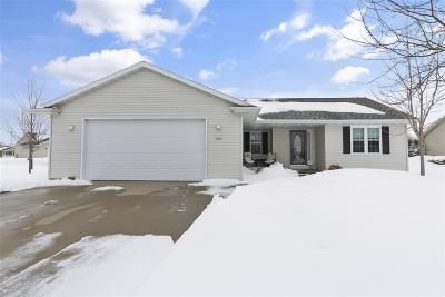 Neenah Single Family Home Active-Offer No Bump: 1552 Dalebrook
